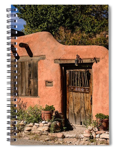 Santa Fe Adobe Spiral Notebook