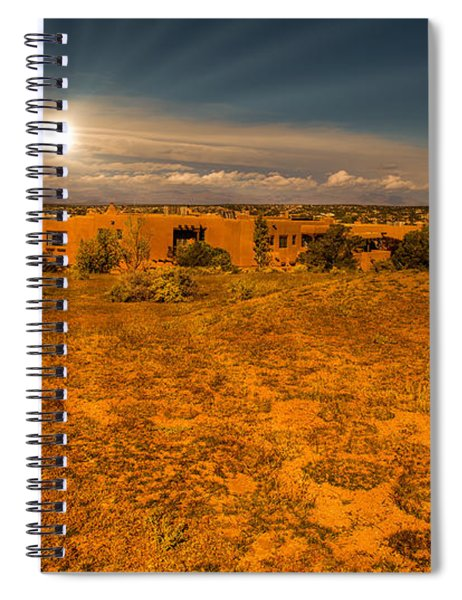 Santa Fe Landscape Spiral Notebook