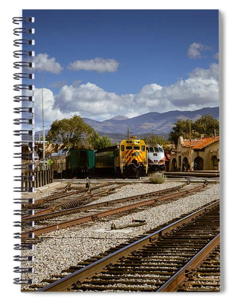 Santa Fe Rail Road Spiral Notebook