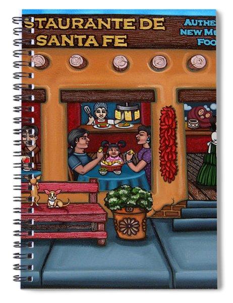 Santa Fe Restaurant Tyler Spiral Notebook