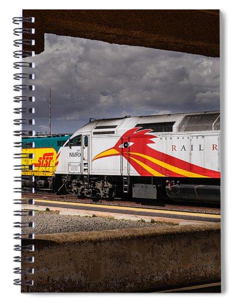 Santa Fe Train Spiral Notebook