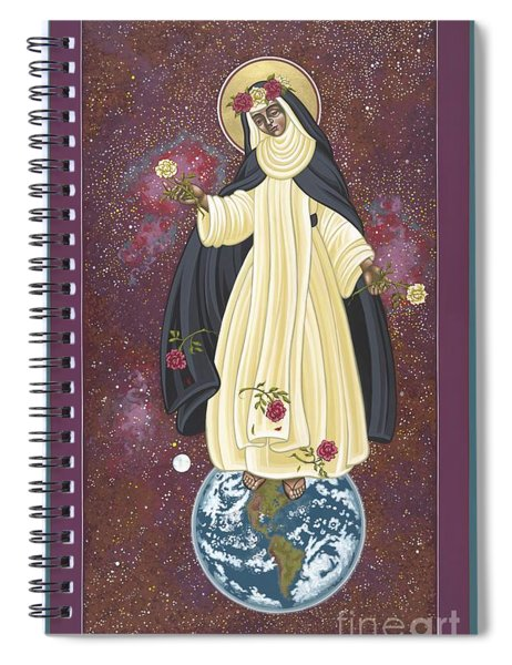 Santa Rosa Patroness Of The Americas 166 Spiral Notebook