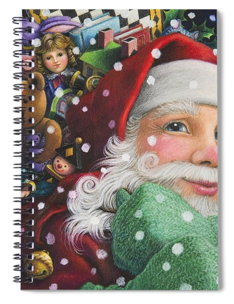 Santa's Toys Spiral Notebook