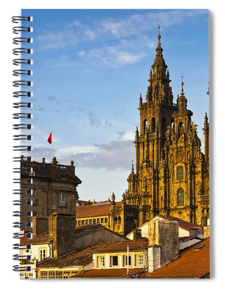 Santiago De Compostela Cathedral Galicia Spain Spiral Notebook