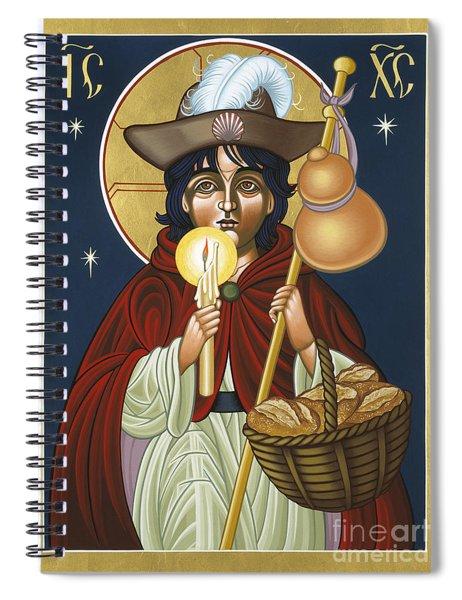 Santo Nino De Atocha 133 Spiral Notebook