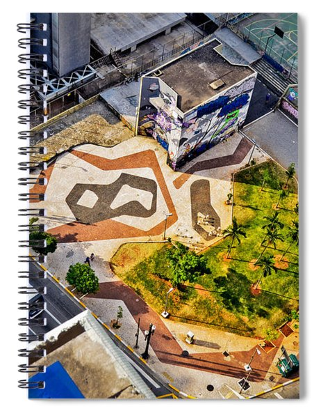 Sao Paulo Downtown - Geometry Of Public Spaces Spiral Notebook