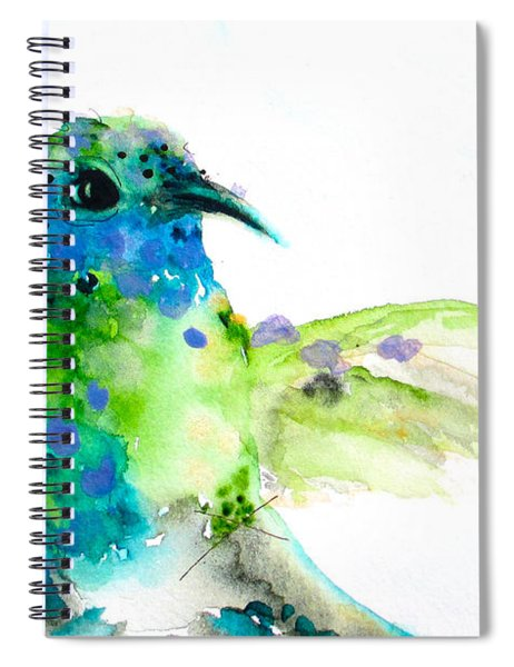 Sapphire Spiral Notebook