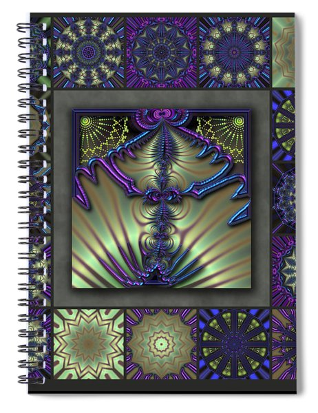 Sapphire Wind Redux  Spiral Notebook