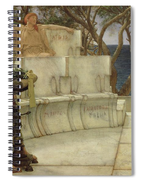 Sappho And Alcaeus Spiral Notebook