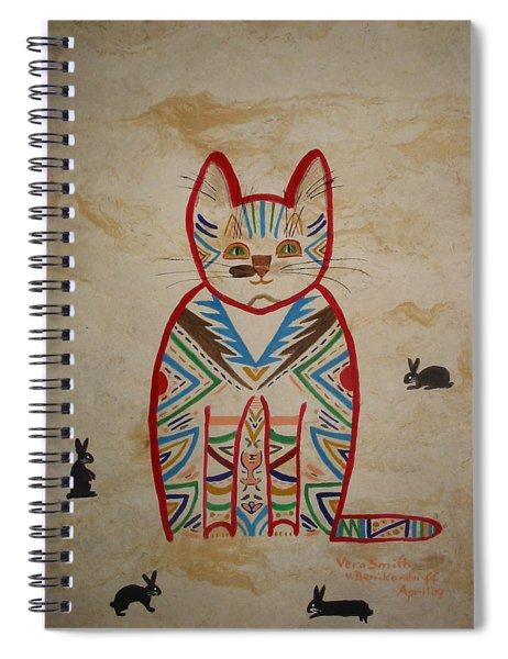 Sarah's Cat Spiral Notebook