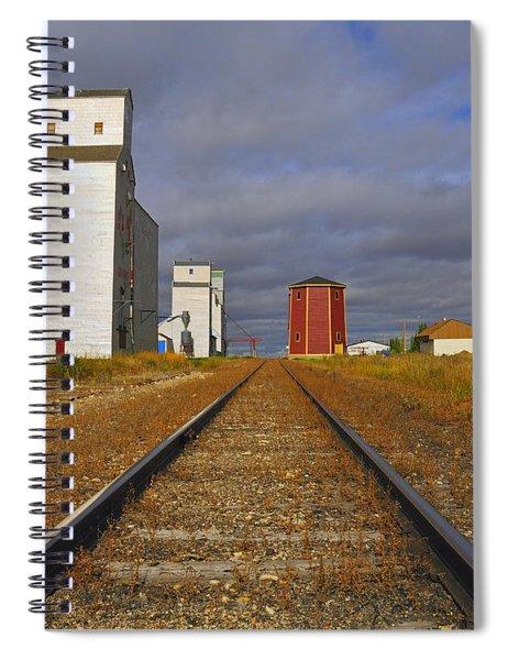 Saskatchewan Prairies Spiral Notebook