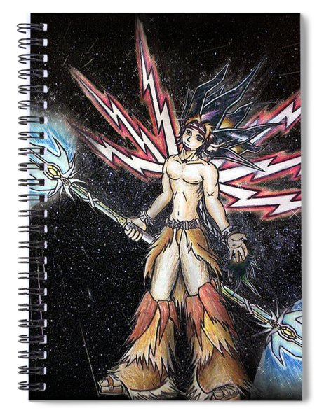 Satari God Of War And Battles Spiral Notebook