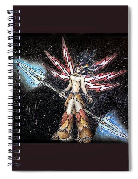 Satari God Of War And Battles Spiral Notebook