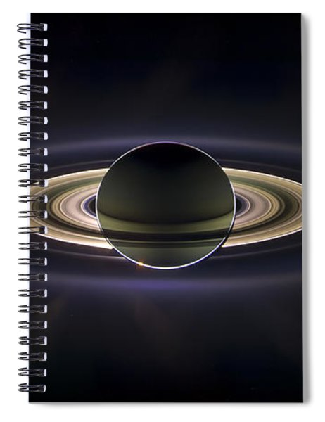 Saturn Spiral Notebook