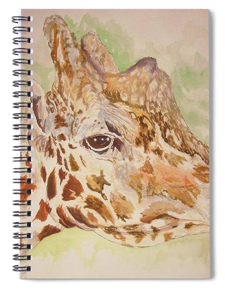 Savanna Giraffe Spiral Notebook