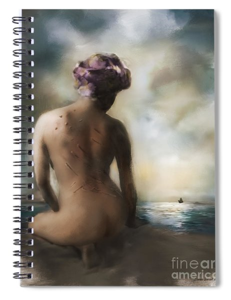 Scars And Stripes Spiral Notebook