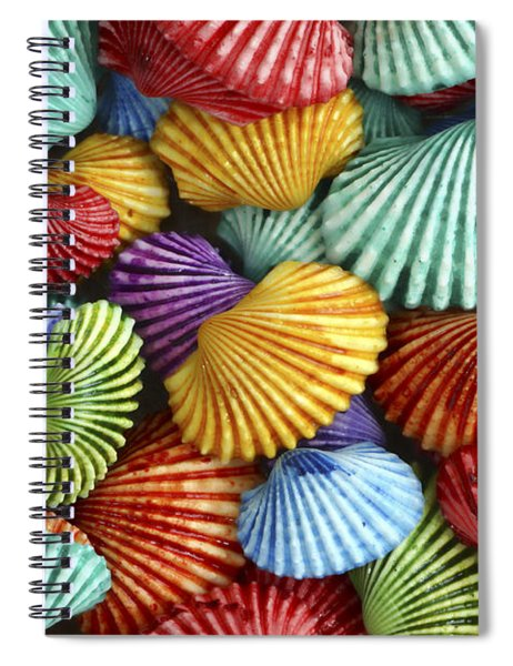 Scattered Colors Spiral Notebook