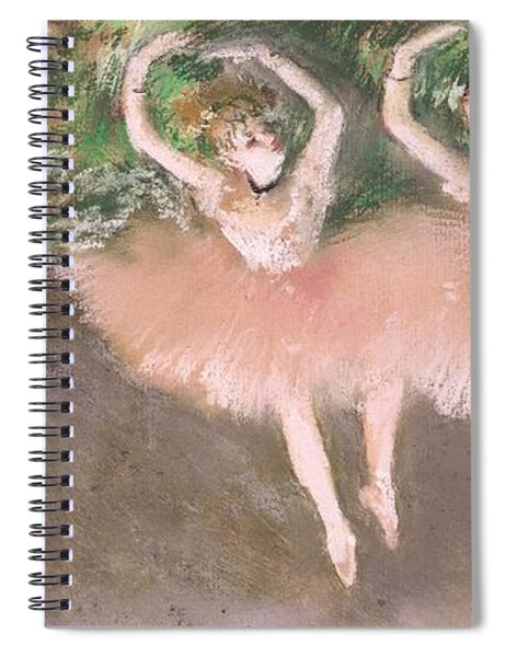 Scene De Ballet Spiral Notebook