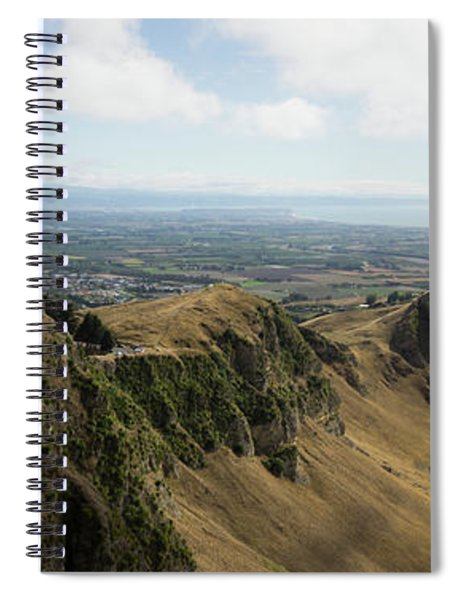 Scenic View Of Landscape From Te Mata Spiral Notebook
