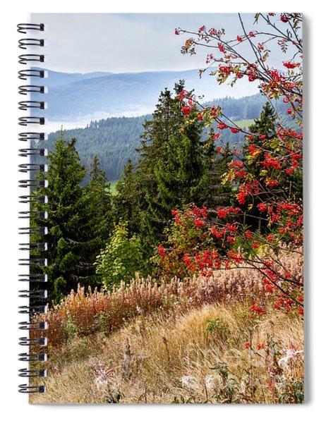 Schluchsee In The Black Forest Spiral Notebook