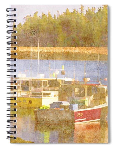 Schoodic Peninsula Maine Spiral Notebook