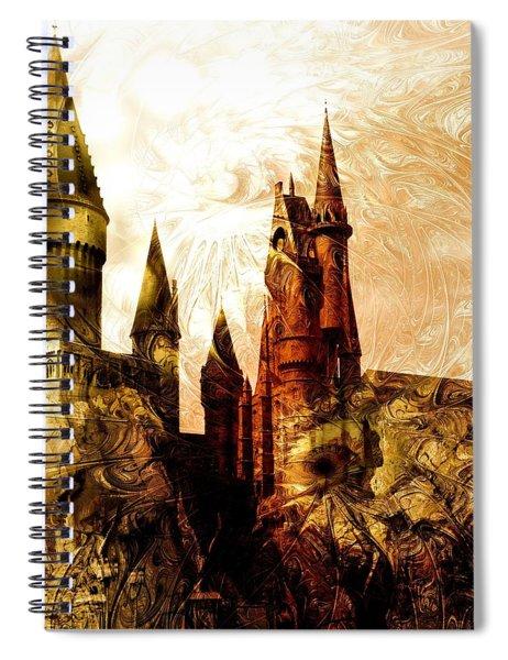 School Of Magic Spiral Notebook