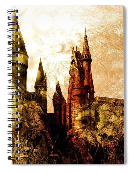 School Of Magic Spiral Notebook