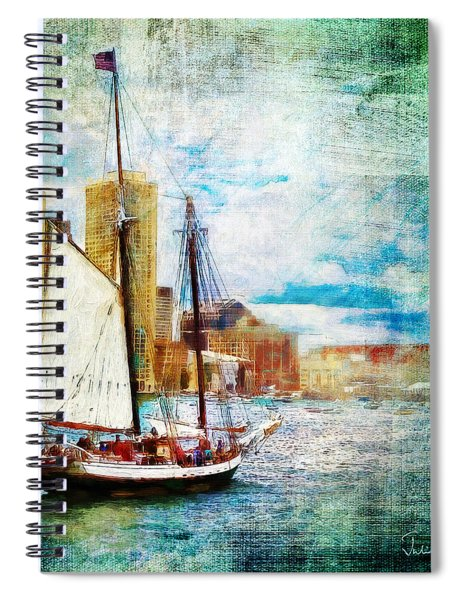 Schooner Bay Spiral Notebook