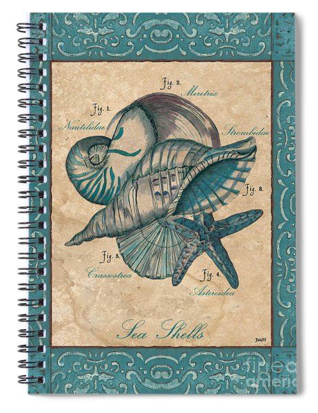 Scientific Drawing Spiral Notebook