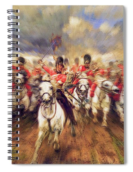 Scotland Forever During The Napoleonic Wars Spiral Notebook