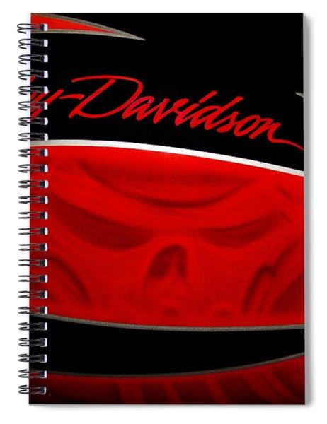 Harley Boo Spiral Notebook