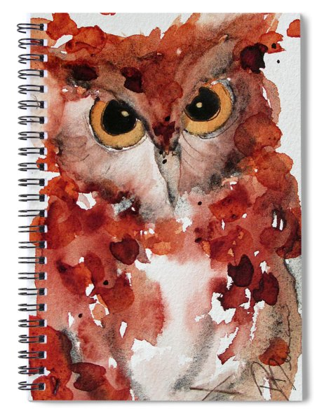 Screech Spiral Notebook