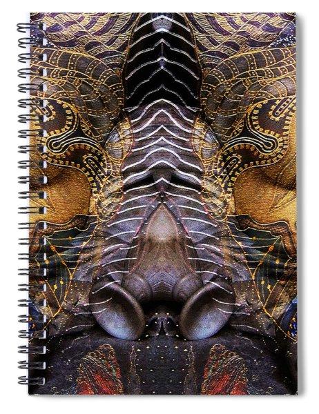 Sculpture 1 Spiral Notebook