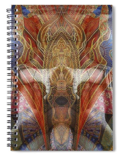 Sculpture 2 Spiral Notebook