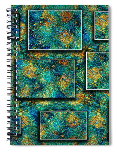 Sea Coral Spiral Notebook