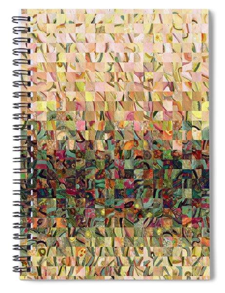 Sea Foam Serenade Spiral Notebook