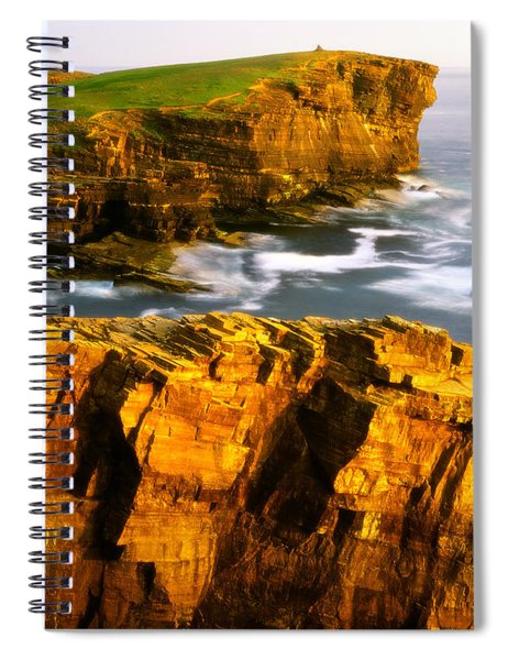 Sea Of Time Spiral Notebook