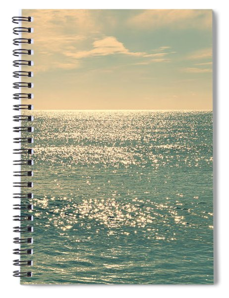 Sea Of Tranquility Spiral Notebook