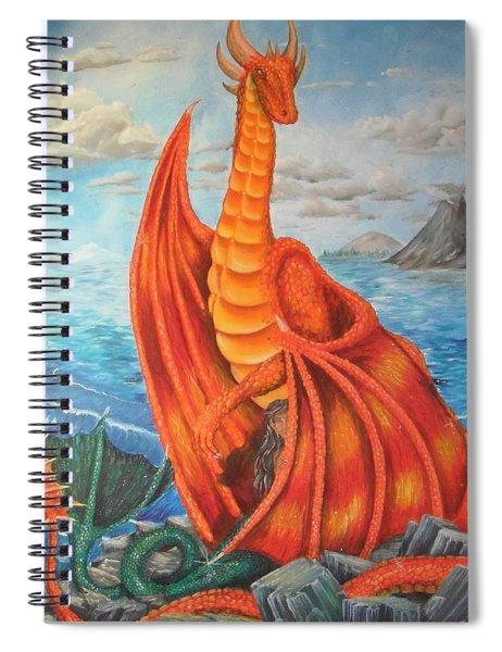 Sea Shore Pair Spiral Notebook