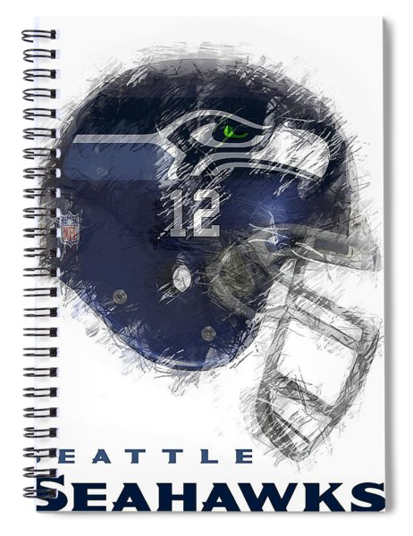 Seahawks 12 Spiral Notebook