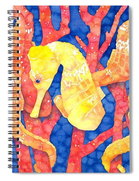 Seahorse Heaven Spiral Notebook