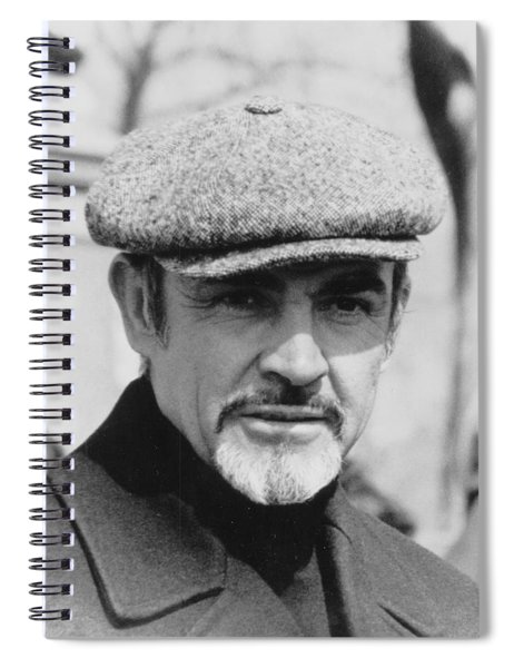 Sean Connery Spiral Notebook