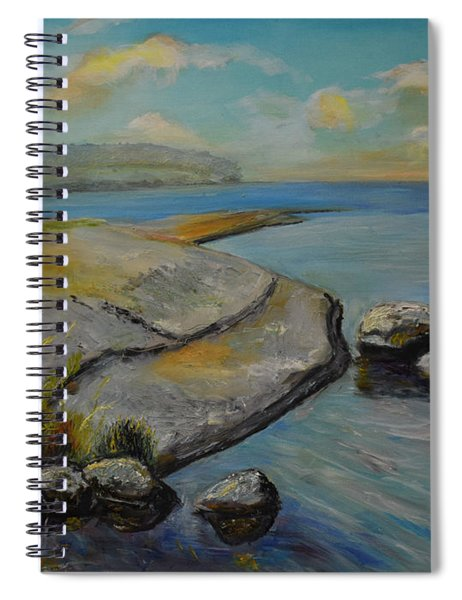 Seascape From Hamina 1 Spiral Notebook