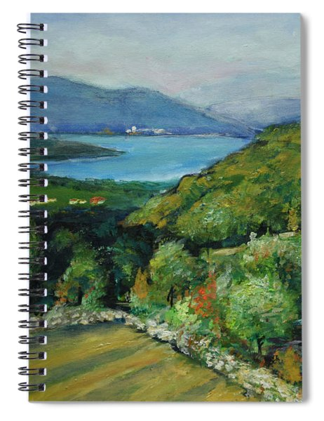 Seascape From Kavran Spiral Notebook