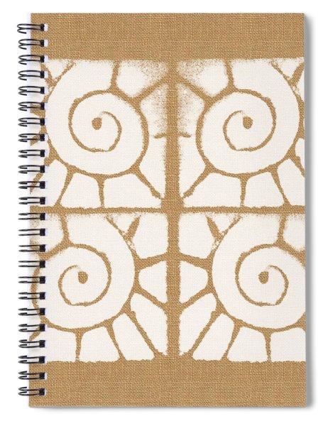 Seashell Tiles Spiral Notebook