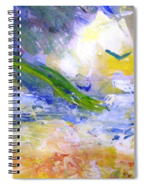 Seashore Windy Days Spiral Notebook