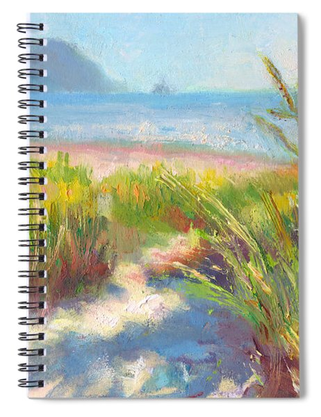 Seaside Afternoon Spiral Notebook
