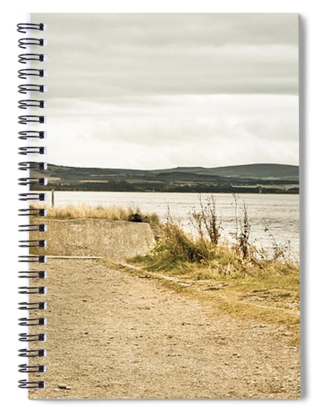 Seaside Path Spiral Notebook