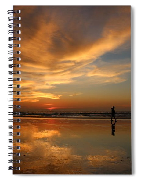 Seaside Reflections Spiral Notebook