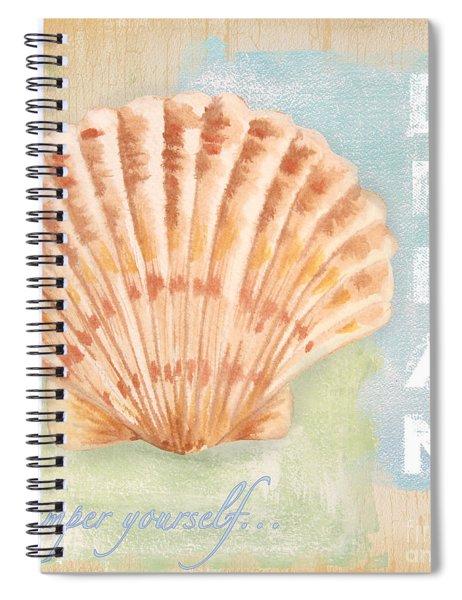 Seaside Retreat-d Spiral Notebook